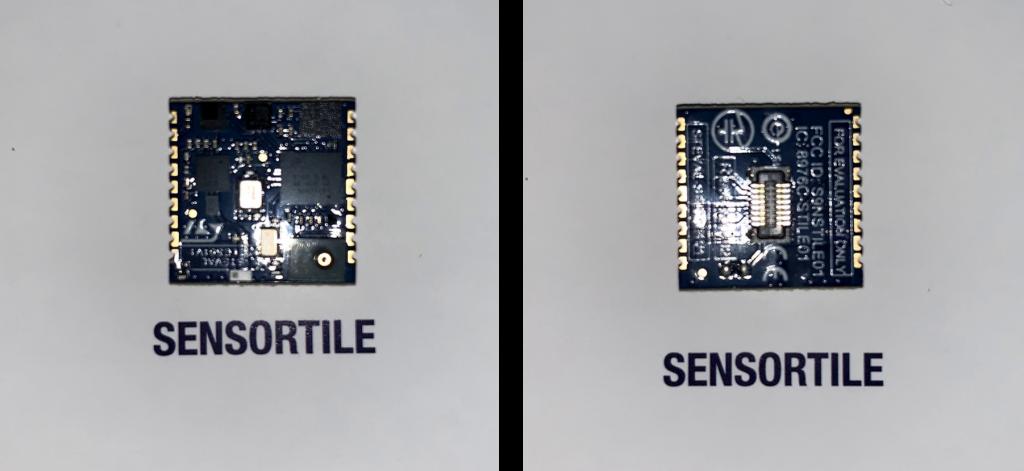 SensorTIle本体